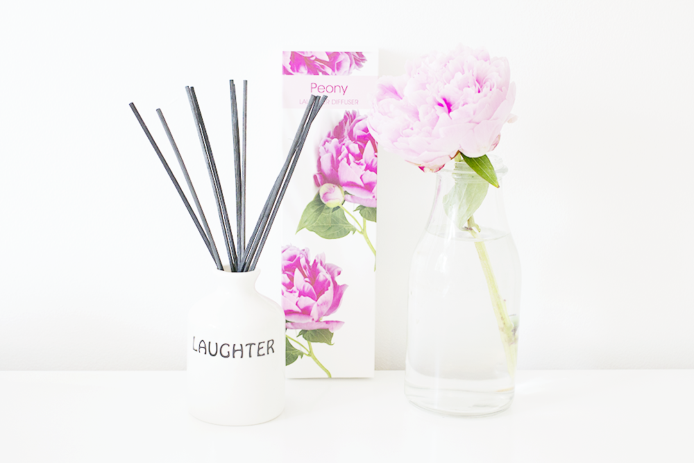 Dunelm Peony Reed Diffuser