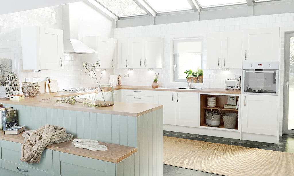 Kitchen inspiration with wren kitchens at home with abby for Kitchen decor inspiration