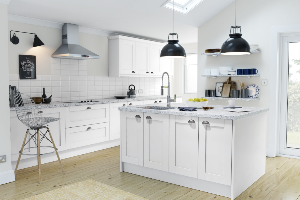 kitchen inspiration with wren kitchens - at home with abby