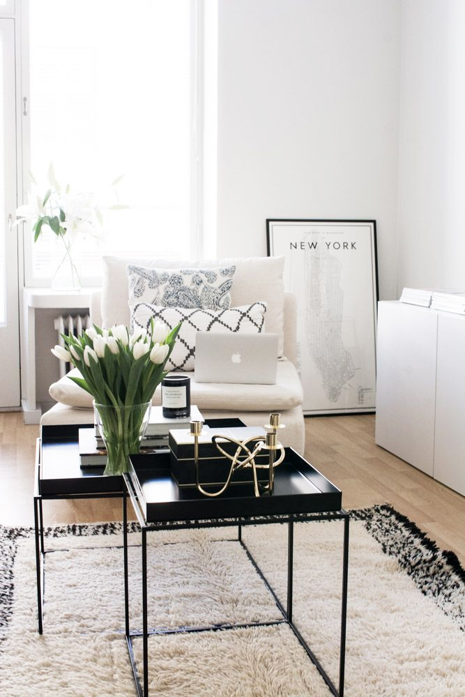 Recently Pinning Light Airy Living Spaces & Recently Pinning: Light Airy Living Spaces - At Home with Abby