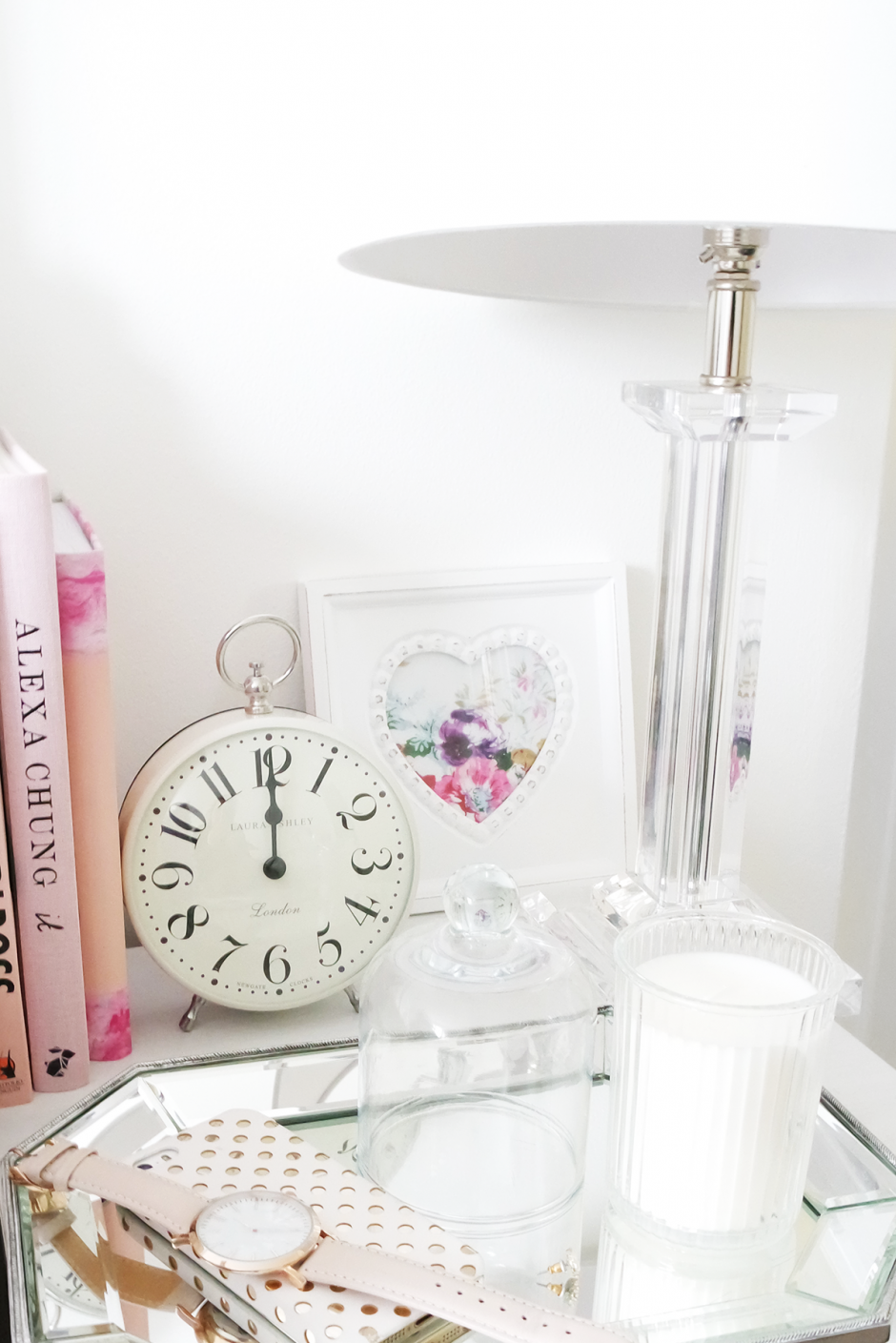 Styling A Bedside Table With Laura Ashley