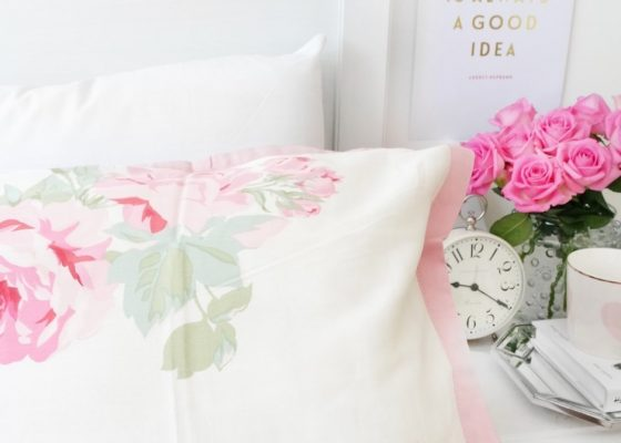 Dressing your bed for summer with laura ashley