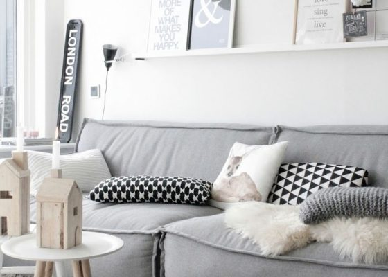 Faux Fur Living Room