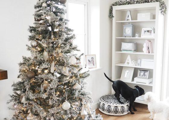 christmas at home christmas tree