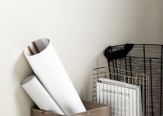 H-and-M-Home-Gold-Wire-magazine-Holder