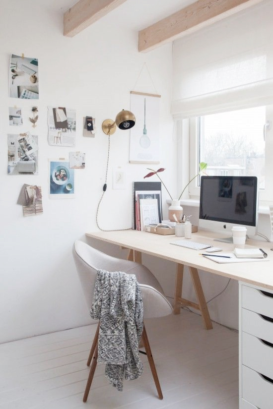 Simple office is stylish and classic