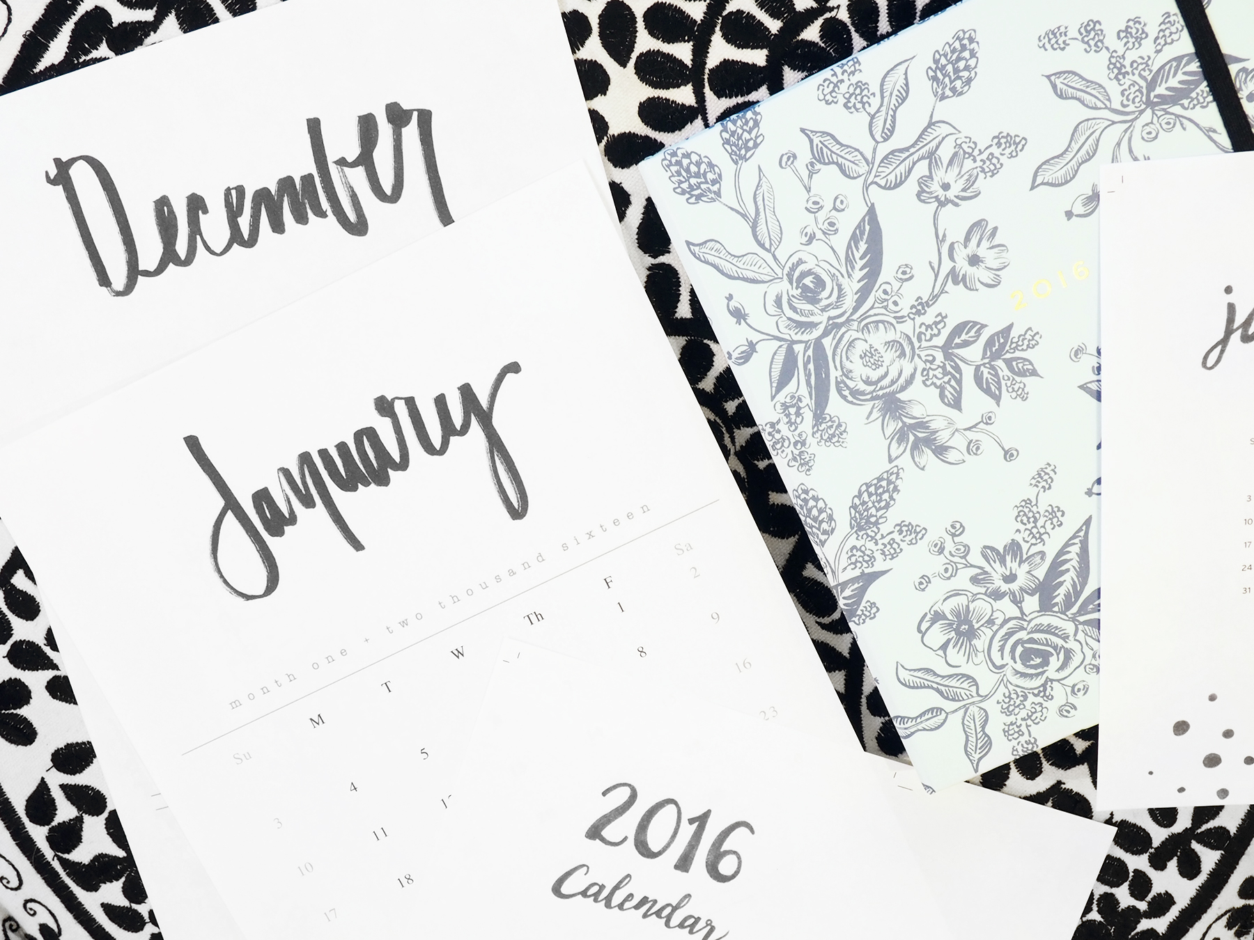 Free Printable 2016 Calendar Downloads