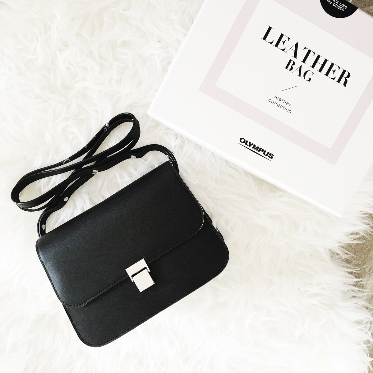 Olympus PEN Leather Collection Shoulder Bag