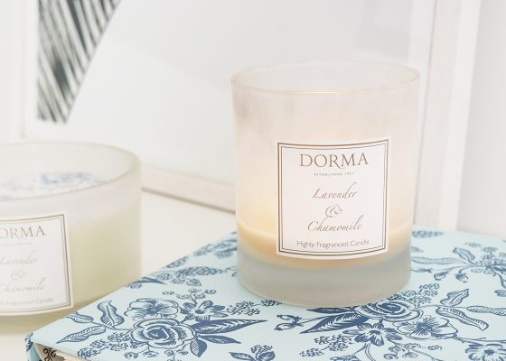 Dunelm-Dorma-Lavender-and-Chamomile-Candle