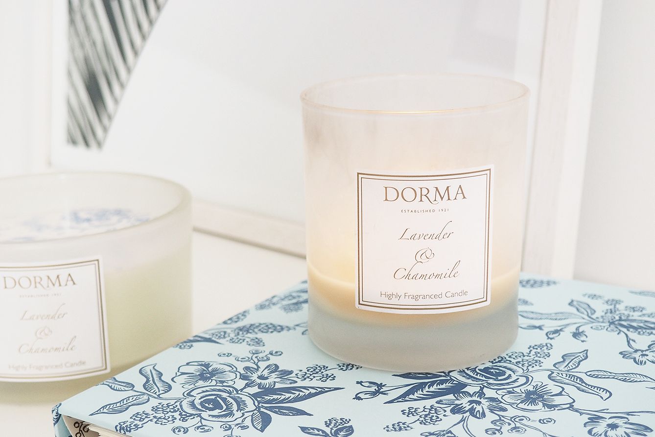 Review: Dorma Lavender and Chamomile Candle