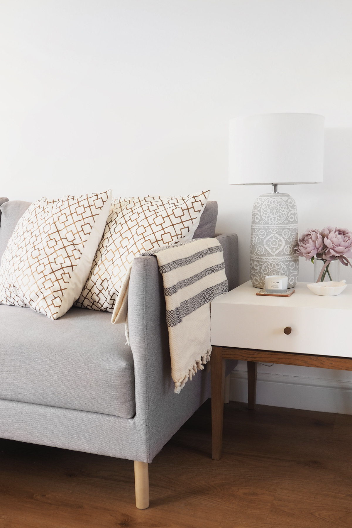 Styling Your Sofa Tips At Home With Abby